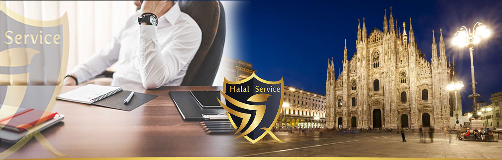 Servizi Halal chiavi in mano HALAL SERVICE - HS. sicurezza, accompagnamento, baby sitting, catering, room fitting